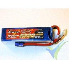 Batería LiPo Gens ace 5000mAh (111Wh) 6S1P 60C 808g EC5
