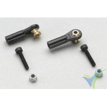 G-Force RC - Nylon Ball Link - M3 - Large - M3 Long Ball - 2 pcs