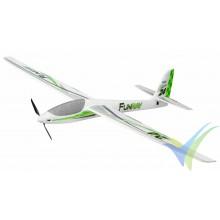 Multiplex FunRay RR motor glider, 2000mm, 1790g