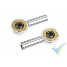 G-Force RC - Aluminium Ball Link - Inner thread M3 - Ball for M2 Screws - 2 pcs