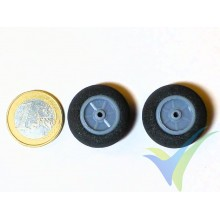 Multiplex foam wheel 733199, 26mm, 1.2g, super light foam, 2 pcs