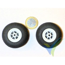 Multiplex foam wheel 733200, 45mm, 4.45g, super light foam, 2 pcs