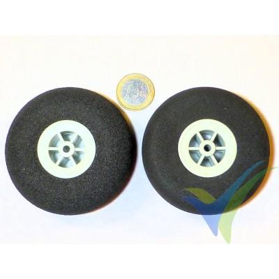Rueda Multiplex 733202, 73mm, 10.9g, espuma súper ligera, 2 ud