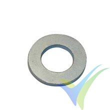 M3 Flat washer, zinc-plated steel, DIN-125-1 A, 1 pc