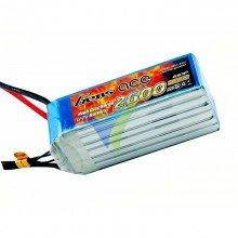 Batería LiPo Gens ace 2600mAh (57.72Wh) 6S1P 60C 452g Deans