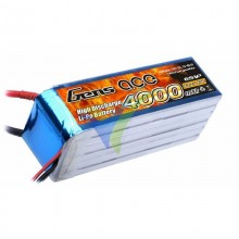 Batería LiPo Gens ace 4000mAh (88.8Wh) 6S1P 25C 620g
