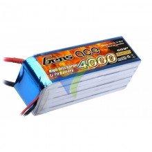 Gens ace LiPo Battery 4000mAh (88.8Wh) 6S1P 25C 620g