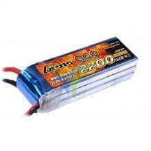 Batería LiPo Gens ace 2200mAh (24.42Wh) 3S1P 25C 184g Deans