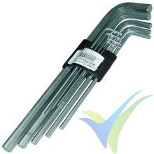 Wera Hex-Plus long hexagonal wrench set