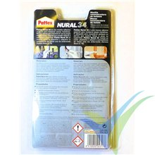 Epoxy putty metal restorer Nural 34, 50g