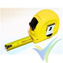 Flexómetro 5m Stanley Easylock II con freno, hoja de 19mm