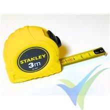 Flexómetro 3m Stanley Easylock II con freno, hoja de 12.7mm