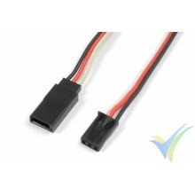 G-Force RC - Servo Extension Lead - Futaba - 22AWG / 60 Strands - 60cm - 1 pc