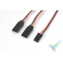 G-Force RC - Servo Y-Lead - Futaba - 22AWG / 60 Strands - 30cm - 1 pc