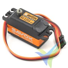 Servo digital Savox SV-1254MG - Low Profile, 46g, 15Kg.cm, 0.085s/60º, 6V-7.4V
