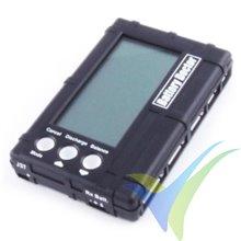 Etronix Battery Doctor, equilibrador, descargador y voltímetro 3 en 1