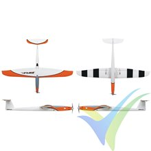 Kit avión Great Planes - Rifle 1M Sport EP ARF, 1000mm, 710-795g