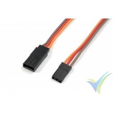 G-Force RC - Servo Extension Lead - JR/Hitec - 22AWG / 60 Strands - 60cm - 1 pc