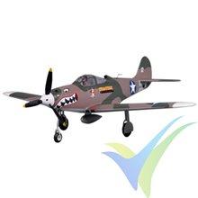 FMS 980MM P-39 AIRCOBRA CAMO HIGH SPEED ARTF W/O TX/RX/BATT