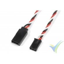 Prolongador trenzado cable de servo Futaba 30cm, 0.33mm2 (22AWG) 60 venillas, G-Force