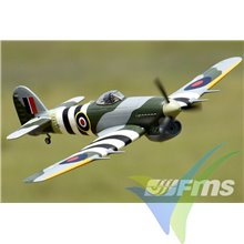Combo avión FMS Hawker Typhoon ARTF 1100mm, 1300g