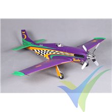 Combo avión ROC Hobby Voodoo Sport Racer ARTF High Speed 1070mm, 1270g