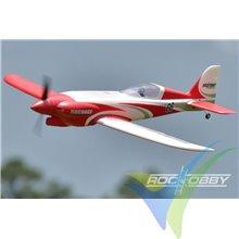 Combo avión ROC Hobby Nemesis Racing High Speed ARTF 1100mm, 1530g