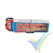 Batería LiPo Gens ace 2600mAh (19.24Wh) TX 2S1P 97g Futaba