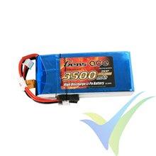 Batería LiPo Gens ace 3500mAh (25.9Wh) RX/TX 2S1P 140g Futaba