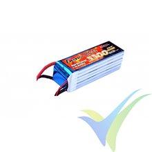 Batería LiPo Gens ace 3300mAh (73.26Wh) 6S1P 45C 523g EC5