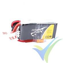 Tattu 450mAh 2S1P 75C 7.4V Lipo Battery Pack