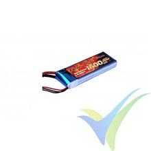 Batería LiPo Gens ace 1600mAh (11.84Wh) 40C 2S1P 106g Deans