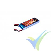 Gens ace 1600mAh 7.4V 40C 2S1P Lipo Battery Pack