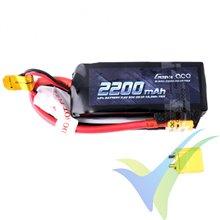 Batería LiPo Gens ace 2200mAh (16.28Wh) 50C 2S1P 134g XT60