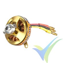 Motor brushless Great Planes RimFire 250 28-13-1750, 20g, 90W, 1750Kv