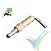 Pestillo para cabina metálico pequeño, A2Pro 5760