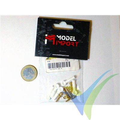 Rótula nylon M2, A2Pro 6160, 5 unidades