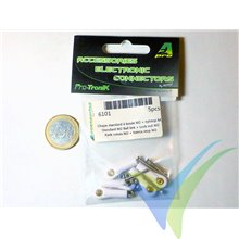 Self-locking M2 ball link, A2Pro 6101, 5 pcs