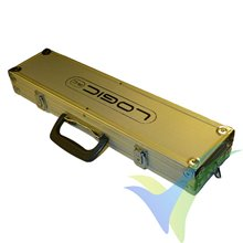Logic RC aluminium box 500x120x60mm, for heli blades, propellers, etc