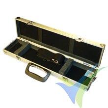 Caja de aluminio Protech RC 500x120x60mm, para palas de helis, hélices, etc