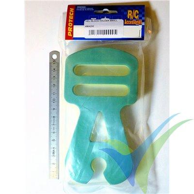 Soporte pequeño Protech RC para palas de heli
