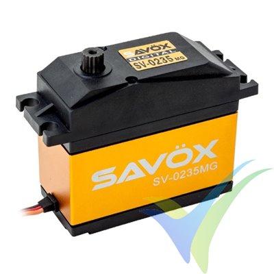Servo digital Savox SV0235MG Jumbo, 200g, 35Kg.cm, 0.15s/60º, 6V-7.4V