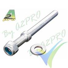Eje acero 5mm para tren aluminio, A2Pro 4213, 2 uds