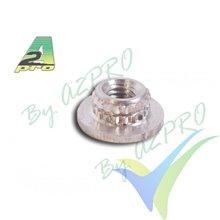 Tuerca aluminio autoempotrable M3 A2Pro 20303, 10 uds