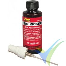 Activador cianoacrilato (CA) estándar ZAP ZIP KICKER PT-715, 59ml