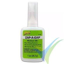 Adhesivo CA Medio ZAP A-GAP PT02, 28.3g