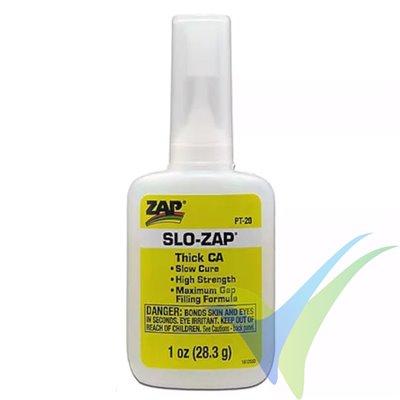 Adhesivo CA Denso ZAP SLO-ZAP PT-20, 28.3 g