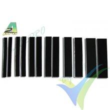 Velcro adhesivo 50x200mm A2Pro 8821