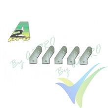 Escuadra de mando micro fibra vidrio 16mm (horn), A2Pro 6546, 5 unidades
