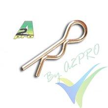 Body clip 22mm 1:10 A2Pro 8950, 10 pcs